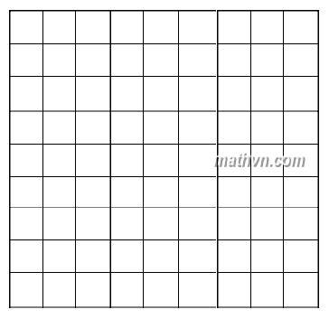 hình vuông kẻ ô 9x9 dạng cơ bản