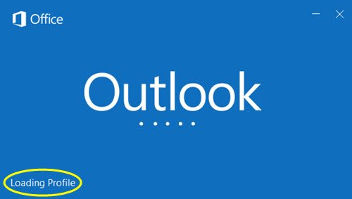 Fix Microsoft Outlook Stuck at Loading Profile Screen – Solutions