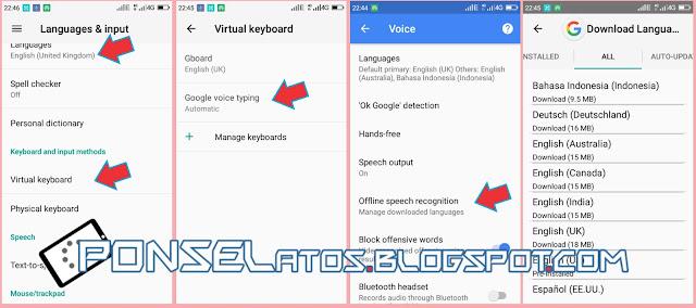 Cara Menggunakan Google Voice Search secara Offline