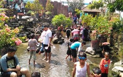 kolam tangkap ikan-janti-klaten