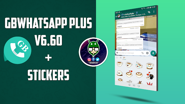 GBWhatsapp Plus Universal v6.65 + Stickers