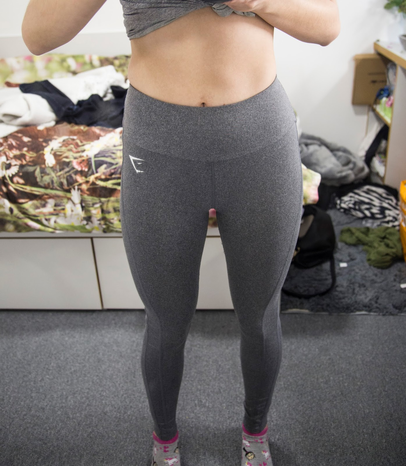 26287495630f7 The Dry Sculpture leggings have a really nice 'almost' high waisted fit and  the waist band is large and really flattering, it keeps you tucked in in  all the ...