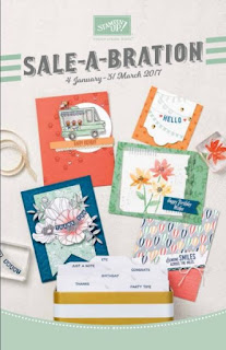 Sale-a-bration, 2017, Stampin' Up!