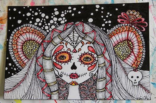 Sugar Skull Fairy by Tori Beveridge