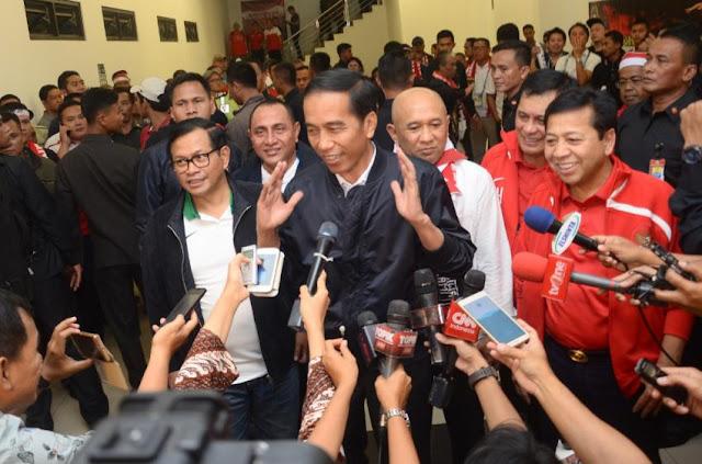 Survei Indobarometer Sebut Jokowi Tepati Janji Kampanye