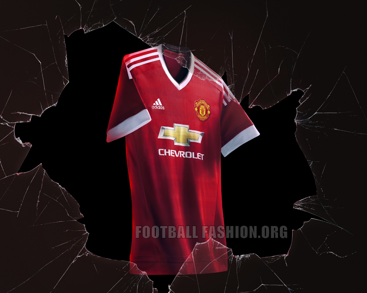 Zero to Heroes: Manchester United 20152016 Home Shirt