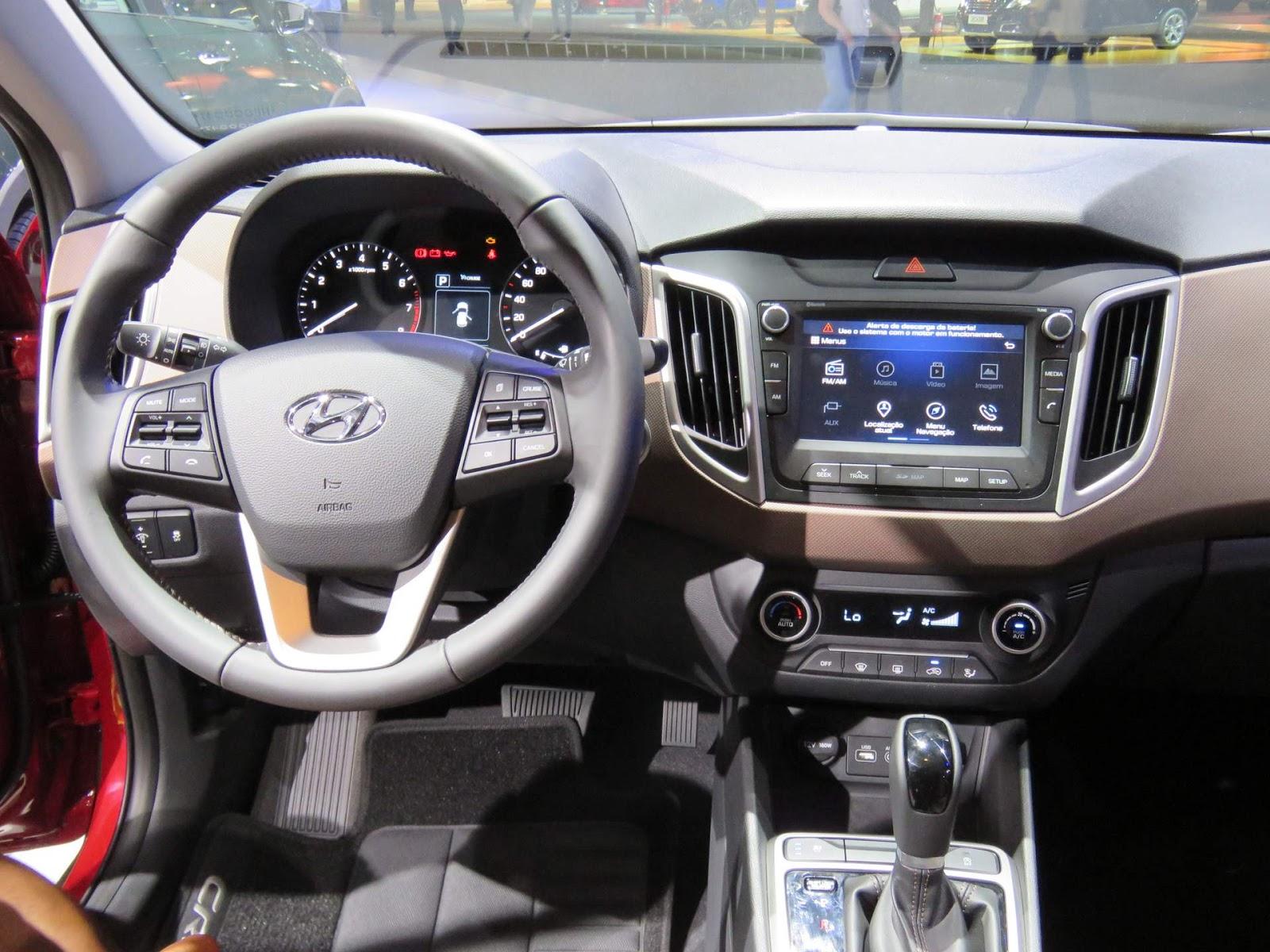 Hyundai creta pre os estimados r 70 mil e r 95 mil for Creta sx o interior