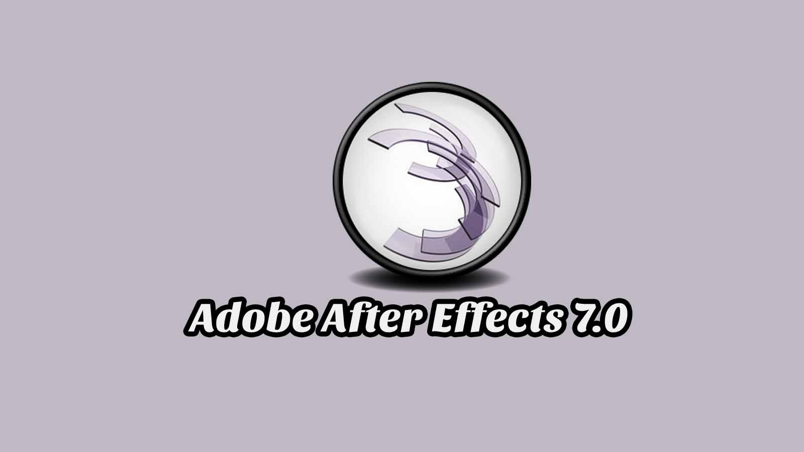 Daftar Isi Adobe After Effects 7.0