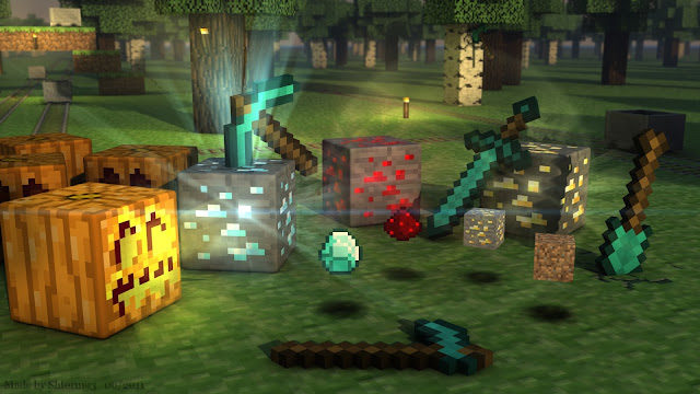 Cool Minecraft backgrounds 7