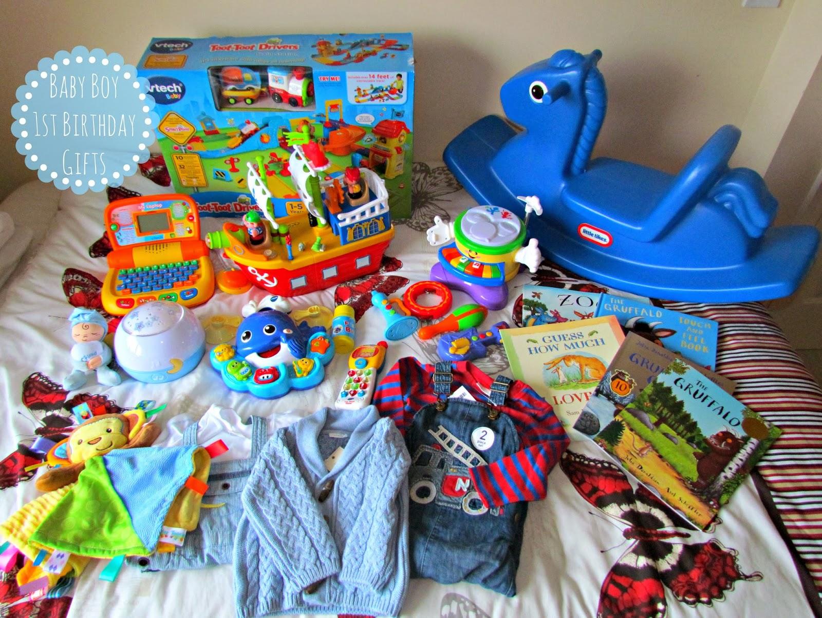 Baby Boy 1st Birthday Gifts ♥   Dolly Dowsie