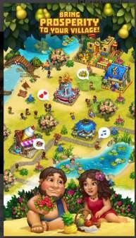 Game Membangun Desa Offline: The Tribez MOD APK
