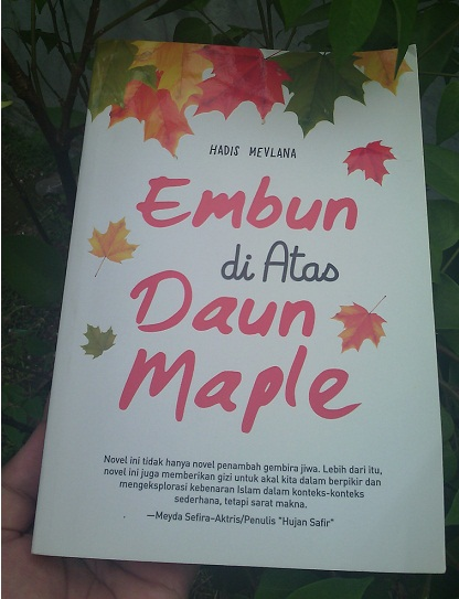 [Review Novel] Embun Di Atas Daun Maple Karya Hadis Mevlana