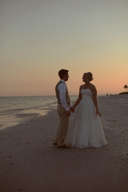 sanibel island sunset wedding casa ybel