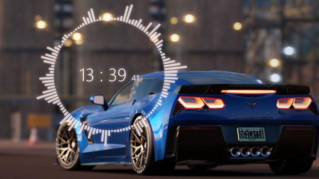 Chevrolet Corvette Z06 - Wallpaper Engine Full HD