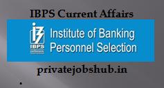 IBPS Current Affairs