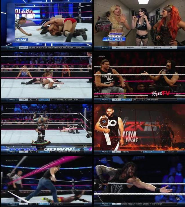 WWE Thursday Night Smackdown 22th Oct 2015 WEBRip 480p