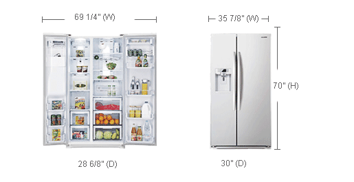 Here You Can Find And Buy Samsung Refrigerator Rsg257aawp
