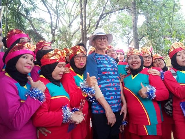 Semangat Tari Poco-poco Bersama Gubernur Banten