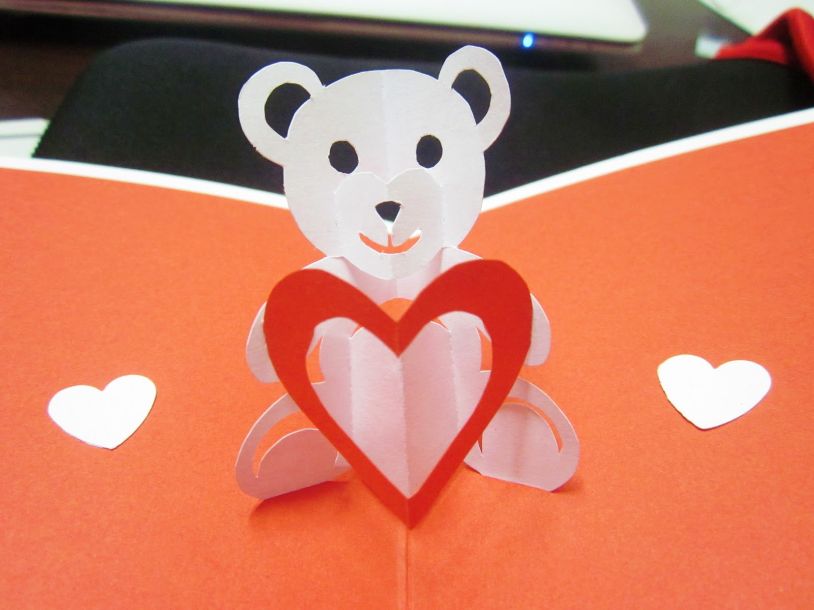 Teddy bear of love pop up card template search results for Teddy bear pop up card template free