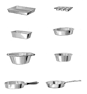 baking kitchen image bread cake pans download