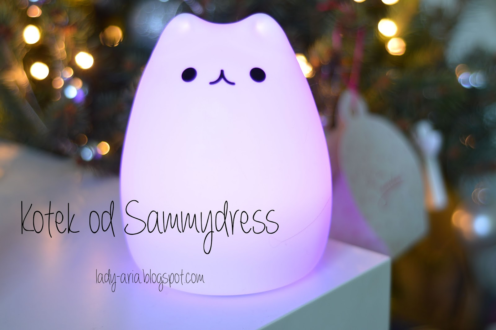 Sammydress Review & Blogmas #2 All I want for Christmas is cat lamp!