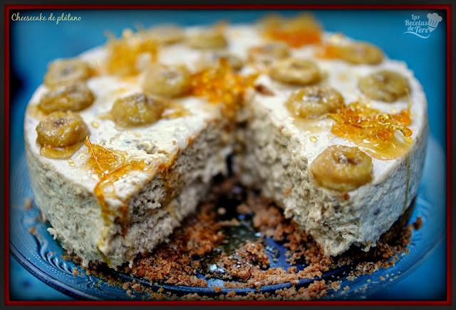 cheesecake de plátano tererecetas 05