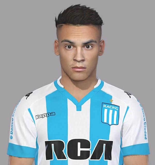 Lautaro Martinez Face PES 2018
