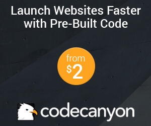 launch website faster with prebuilt code in codecanyon