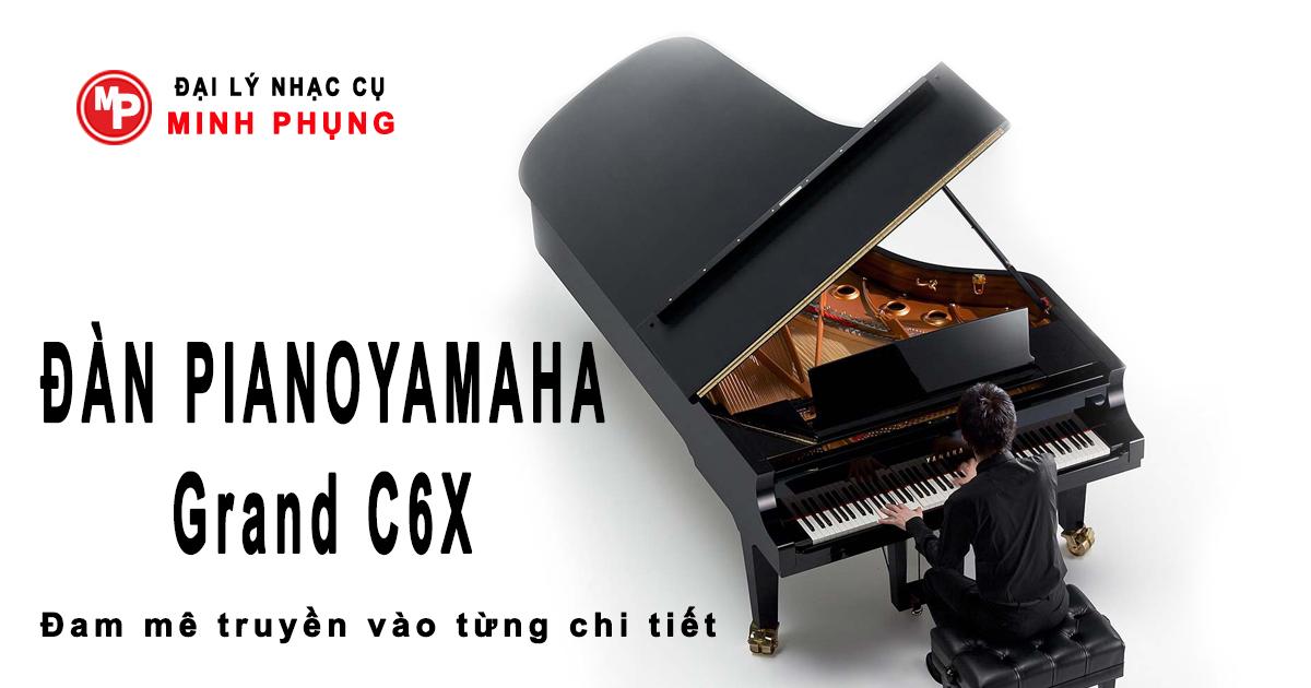Đàn Piano Yamaha Grand C6 PE Chính Hãng