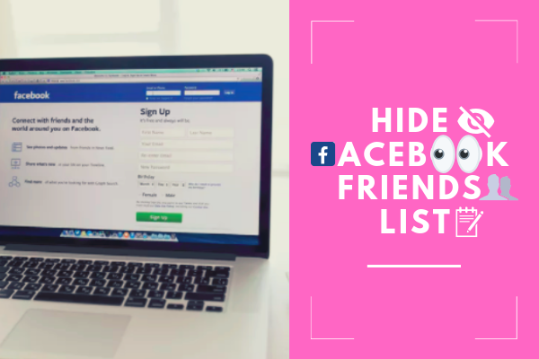 How To Hide Facebook Friends List<br/>