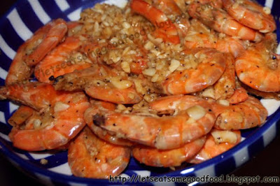 Buttered+Garlic+Shrimp - Garlic Buttered Shrimp Recipe