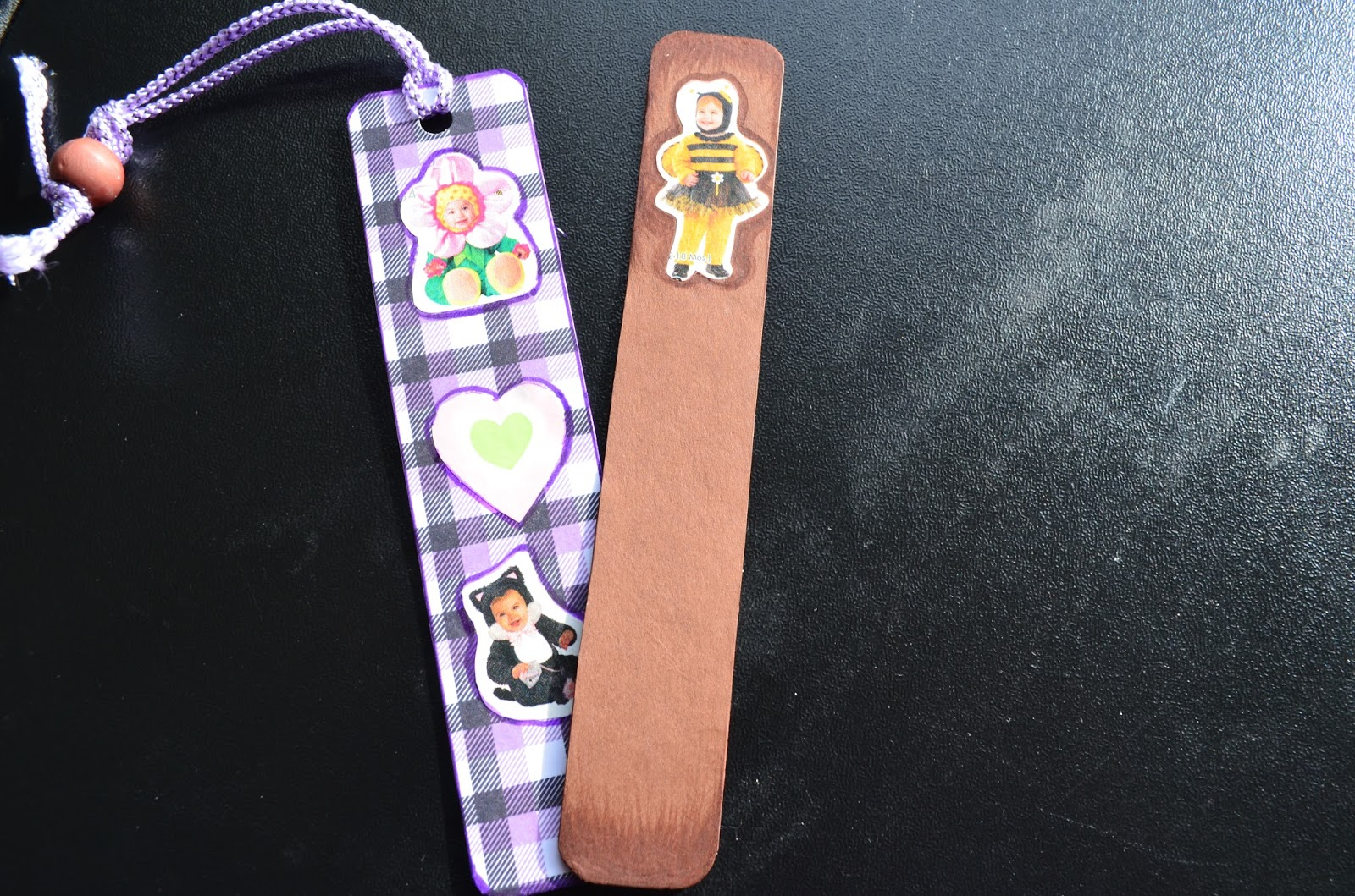 http://www.imprintshandmade.com/2012/11/cute-kiddy-costume-bookmarks.html