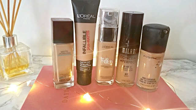 Foundations for Asian Skin