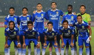 Jadwal Kandang Berubah, Persib Fokus Hadapi Sriwijaya FC