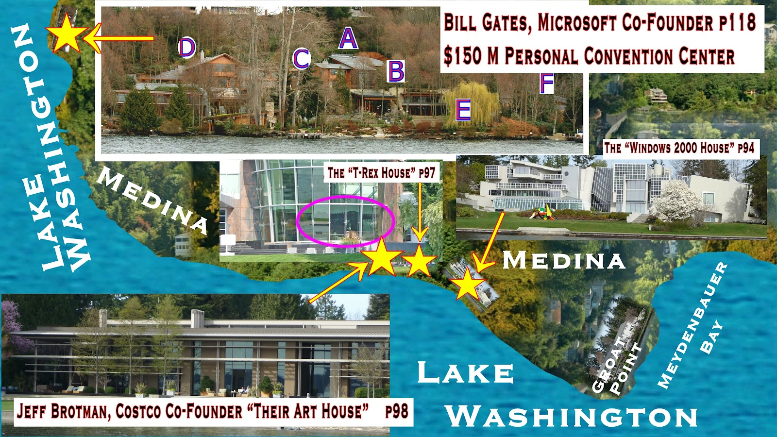Bill Gates House Tour Seattle New Gym In Birmingham