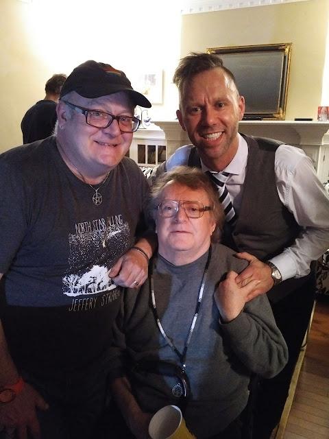 Me, my partner Dwight and Jeffery Straker