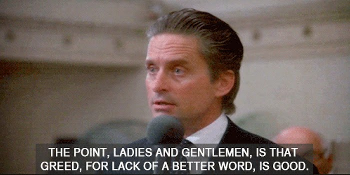 Bootstrap Business 60 Great Gordon Gekko Wall Street Quotes Custom Wall Street Quotes