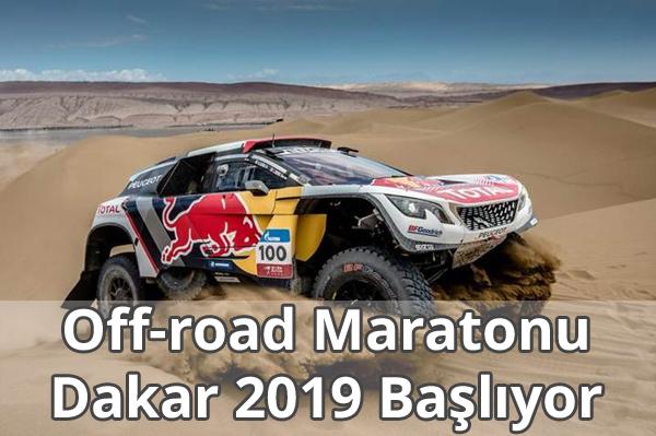 Off-road Maratonu Dakar 2019 Başlıyor