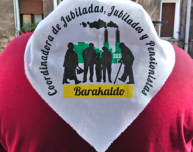 pañuelo pensionistas Barakaldo