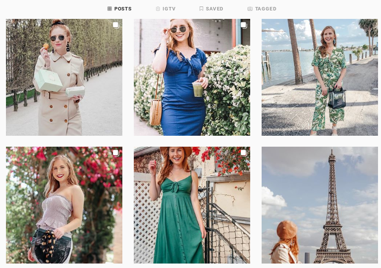 Tampa blogger Amanda Burrows from Affordable by Amanda shares her Instagram feed. She is talking about how to beat the Instagram algorithm on her blog and sharing her top 5 major blog changes she made for growth in 2019.