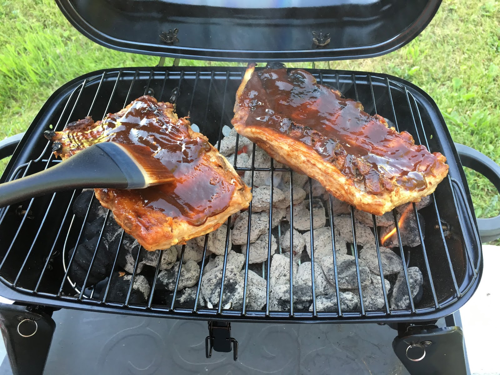 Coal Bbq How To Make Perfect Bbq Ribs On A Charcoal Grill Recipe The