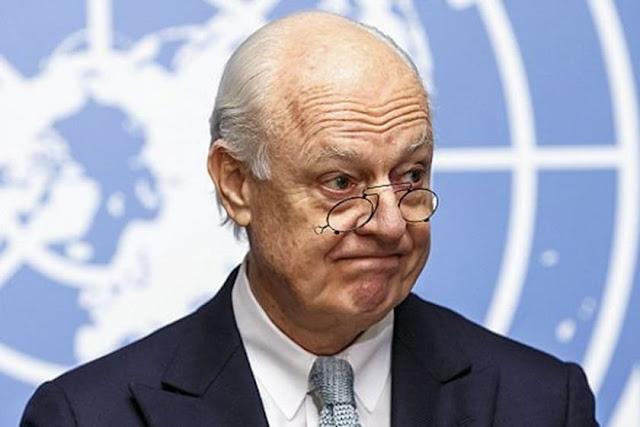 دي ميستورا: واشنطن تنضم إلى مفاوضات تشكيل لجنة دستورية في سوريا