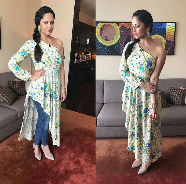 anasuya hot stills