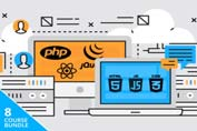 full stack web developer course bundle