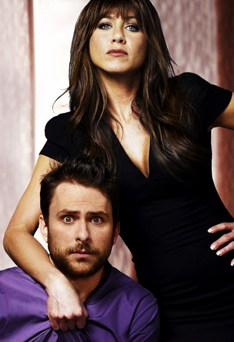 Horrible Bosses Poster - Jennifer Aniston şi Charlie Day