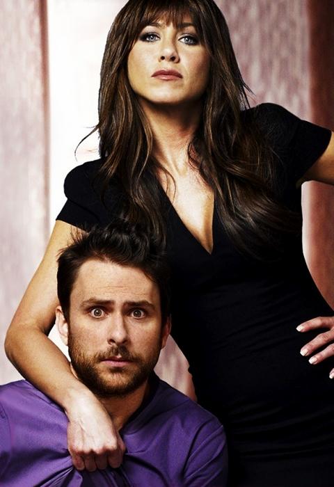 Horrible Bosses Poster - Jennifer Aniston şi Charlie Day