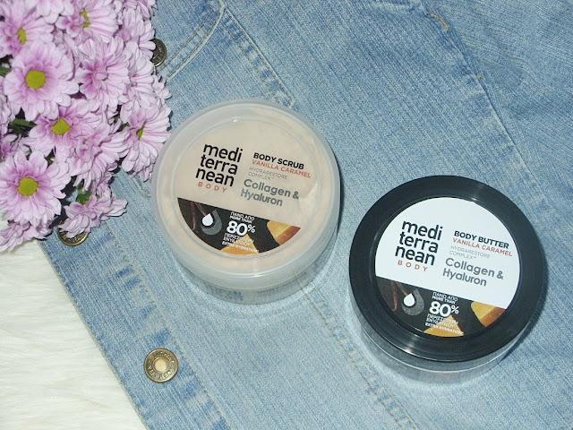 Recenzja:Peeling i masło do pielęgnacji ciała o zapachu wanilii i karmelu, Mediterranean
