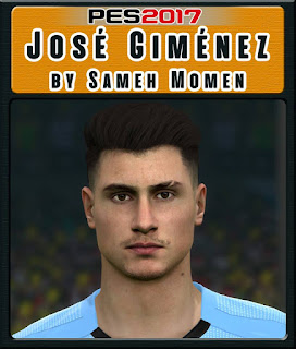 PES 2017 Faces José Giménez by Sameh Momen