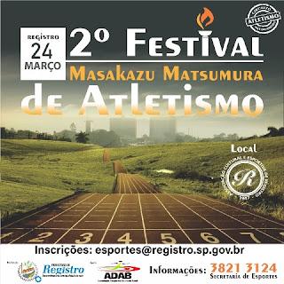 """2º Festival """"Masakazu Matsumura"""" abre a temporada de Atletismo no Vale"""