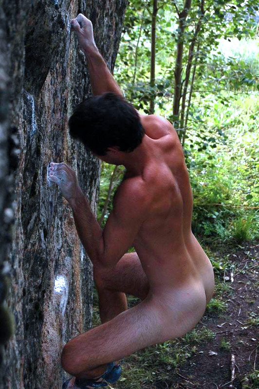 Naked mountain men curious question